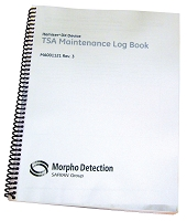 Maintenance Log Book, Itemiser DX