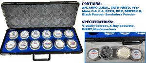 AVSEC/TSA INERT Explosives Sample Kit