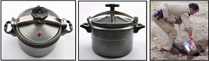 7-liter Arab Style Pressure Cooker (empty)