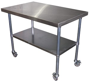 ETD Accessory Table (Stainless Steel)